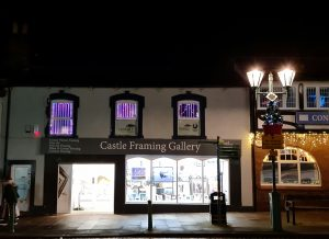 Castle Framing with Curlew Secretarial Solutions, Raindrop Comms & Borderlands VA Network's Office